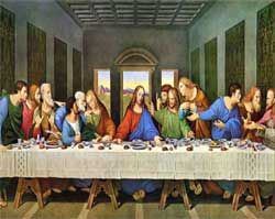 The Last Supper Painting